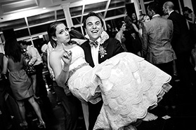 Bride and Groom at their reception at Mallard Island Yacht Club in Manahawkin, NJ.
